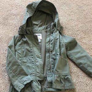 Army Green Girls Jacket